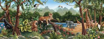jungle mural google search jungle mural pinterest the rainforest pre pasted wallpaper wall mural