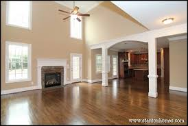 Custom Home Design Debunking Myths About Two Story Living Rooms - Two story family room