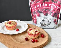 cranberry orange muffins with orange crumble topping zesty south