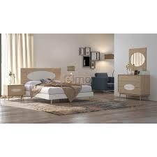 chambre adulte bois chambre adulte complète 5 pièces bois et laque style scandinave