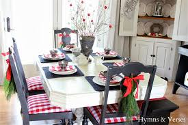 dining room chairs decorated for christmas attractive christmas