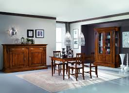 sedie classiche per sala da pranzo sala da pranzo classica capitelli e 6 sedie mobili casa idea stile