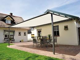 metal pergola with shade sail roofing outdoor pergola roof