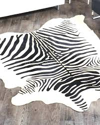 Brown Zebra Area Rug Brown And White Zebra Rugs Area Rug Striped Decoration Black