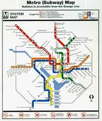 dc metro rail map teched99 washington d c metro map