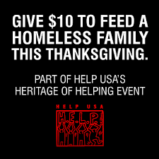 help feed the homeless h e l p usa inc s fundraiser