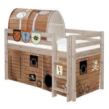 Mid Sleeper Bunk Bed Pirate Midsleeper Loft Bed By Flexa Shown In Terra