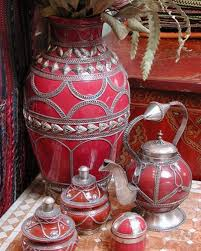 Home Decor Fabrics Moroccan Style Home Accessories And Materials For Moroccan