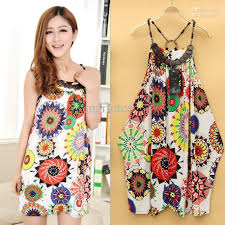 sale womens ladies nice sweet bohemia backless casual dress