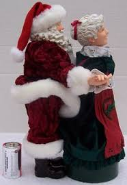image detail for mr mrs claus carrolers 25th anniv santa claus