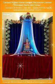 best 25 ganpati home decoration ideas on ganpati