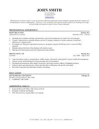 Hvac Resume Samples by Sample Hvac Resume Entry Level Contegri Com