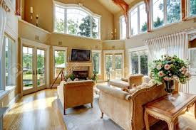 High Ceiling Living Room by High Ceiling Living Room Amazing Living Room Colors For High