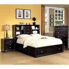 Bookcase Headboard Beds Double Bed Bookcase Headboard