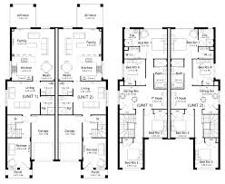 duplex house plan and elevation 2349 sq ft kerala home picturesque