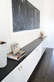 White Gloss Sideboard Cheap Floating Cabinets Are Done Made By