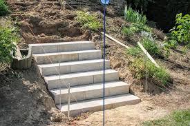 garten treppe gartentreppe aus blockstufen selber bauen unsere erfahrung mit