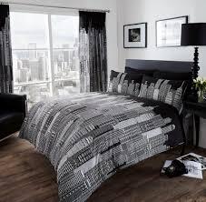 Twin White Comforter Black White City Skyline Bedding Twin Full Queen King Duvet