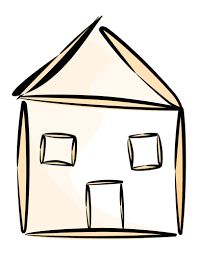 casa disegno disegno vettoriale di casa immagini vettoriali gratuiti