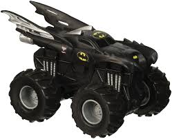 batman monster truck video amazon com wheels monster jam truck rev tredz batman official