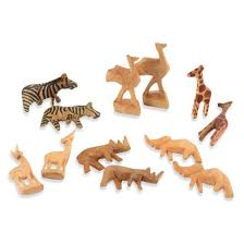 carved wooden animals carved wooden animals from kenya for small
