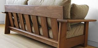 beautiful wood frame couch with removable cushions 47 for your