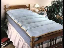 spenco u0027s silicore hospital bed mattress pad youtube