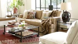 fabric sleeper sofa vintage living room with pottery barn performance suede fabric