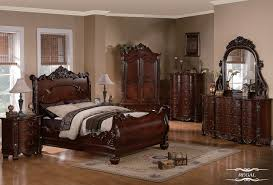 Bedroom Furniture Set Queen Cherry Wood Bedroom Set Myfavoriteheadache Com