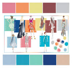 Pantone Color Blue Style Trends For Spring A Color Palette From Pantone En Plein Air