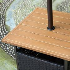 Patio Furniture Cover With Umbrella Hole - small patio table with umbrella hole september 2017