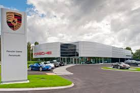porsche headquarters stuttgart new porsche centre opens in portsmouth
