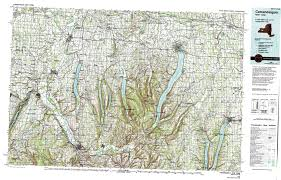 How To Draw A Topographic Map New York Topo Maps Topographic Maps 1 100 000
