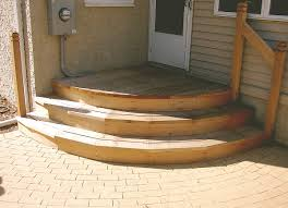 Corner Deck Stairs Design Curved Deck Stairs Walls Find Tierra Este 15801