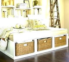 bookcase daybed with storage full daybed with storage full size daybed with storage full size