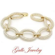 sterling silver crystal bracelet images S048c ladies sterling silver crystal fancy bracelet jpg