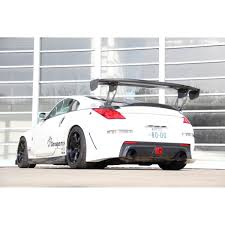 nissan 350z back bumper garage mak rear bumper