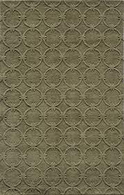 momeni gramercy sage green geometric circles contemporary rug