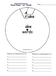 word families enchantedlearning com