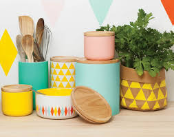 kitchen storage containers ceramic canisters general eclectic home