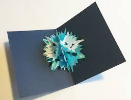 snowflake pop up card helen hiebert studio