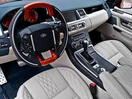 land rover kahn kahn range rover 5 0 litre supercharged cosworth interior car