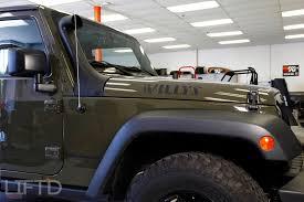 jeep snorkel install new product k u0026n snorkel system u2013 lift u0027d trucks