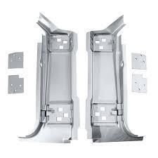 3625mwt mustang dynacorn a pillar panel set with door hinge