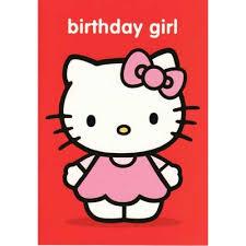 hello kitty birthday card my birthday pinterest hello kitty