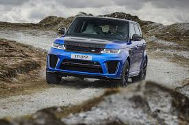 range rover sport 2018 land rover range rover sport svr revealed with 575 horsepower