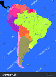 Political Map Of Latin America south america political map world atlas primary south america