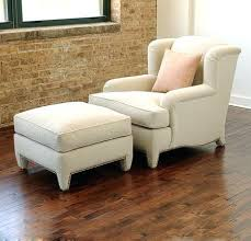 Ottoman Armchair Armchair With Ottoman Cozy Accent Chair With Ottoman Pillows And