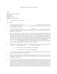 free credit repair letters templates lead therapist cover letter