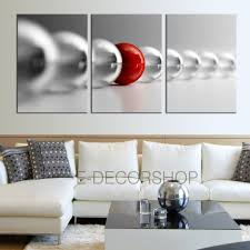 how to hang art prints 3 piece red and gray balls canvas art print ready to hang 3 panels